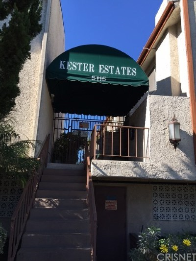 Condo/Townhouse For Sale: 5115 Kester Avenue #14