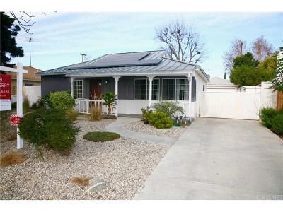 Northridge Single Family Home For Sale: 17541 Strathern Street