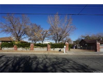 Quartz Hill CA Single Family Home For Sale: $250,000