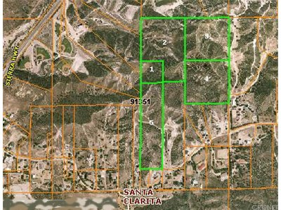 Canyon Country Residential Lots & Land For Sale: Baker Canyon Road