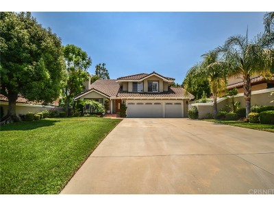 Calabasas Single Family Home For Sale: 24762 Via Pradera