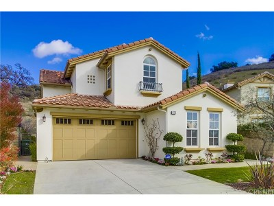 Calabasas Single Family Home For Sale: 4598 Cielo Circle