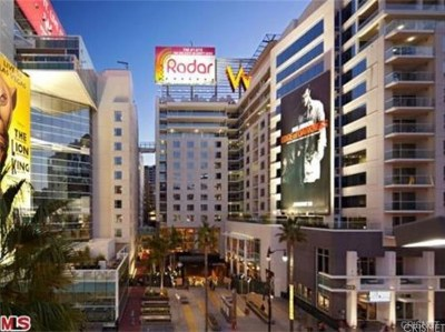 Hollywood Rental For Rent: 6250 Hollywood Boulevard #5F