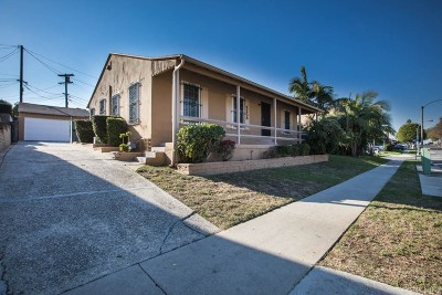 Inglewood Single Family Home For Sale: 2308 West Century Boulevard