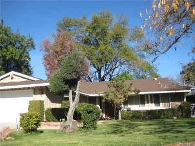 Northridge Single Family Home For Sale: 16521 Septo Street