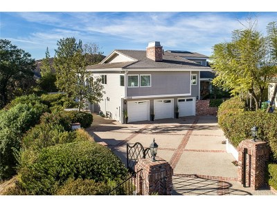 Westlake Village Single Family Home For Sale: 1335 Heritage Place
