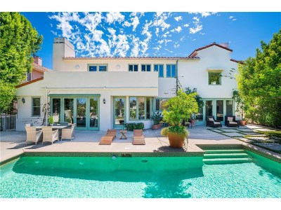 Calabasas Single Family Home For Sale: 24907 Marbella Court