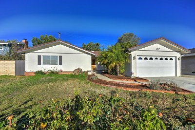 Ventura Single Family Home For Sale: 11259 Casa Street
