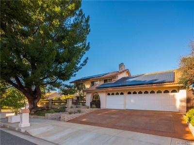 Calabasas Single Family Home For Sale: 22733 Ticonderoga Road