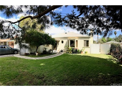 Burbank Single Family Home For Sale: 1222 North Myers Street
