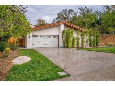 Calabasas Single Family Home For Sale: 4434 Park Alisal