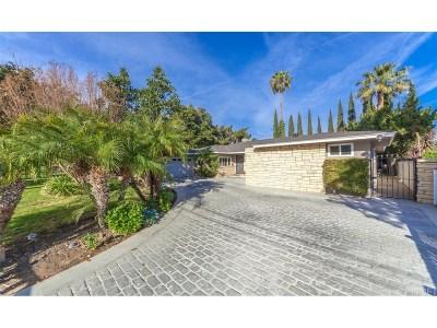 Encino Single Family Home For Sale: 16545 Hartsook Street