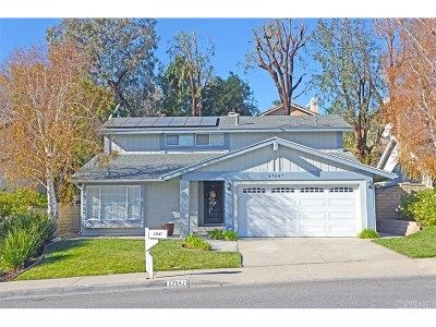 Saugus Single Family Home For Sale: 27547 Open Crest Drive