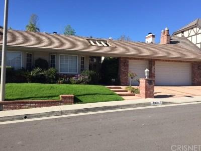 Woodland Hills Rental For Rent: 5939 Nora Lynn Drive
