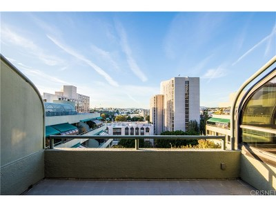Condo/Townhouse For Sale: 880 West 1st Street #706