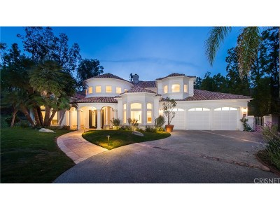 Calabasas Single Family Home For Sale: 5201 Newcastle Lane