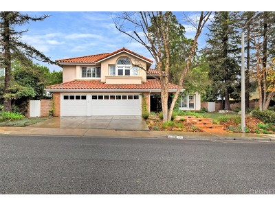 Calabasas Single Family Home For Sale: 3533 Lido Court