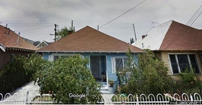 Los Angeles Single Family Home For Sale: 231 West 46th Street