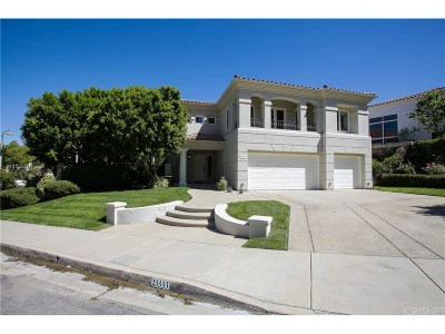 Calabasas Single Family Home For Sale: 23333 Park Soldi