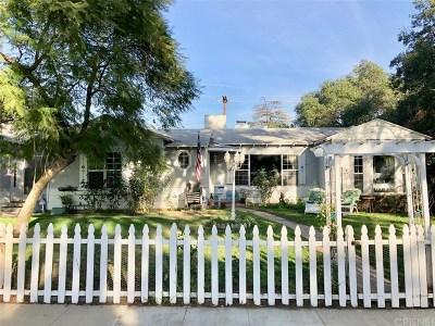 Burbank Single Family Home For Sale: 246 South Sparks Street