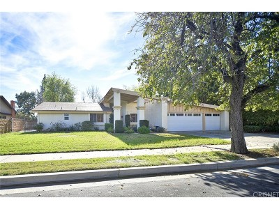 Chatsworth Single Family Home For Sale: 19654 Los Alimos Street