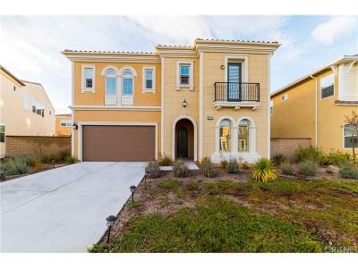 Saugus Single Family Home For Sale: 27625 Camellia Drive
