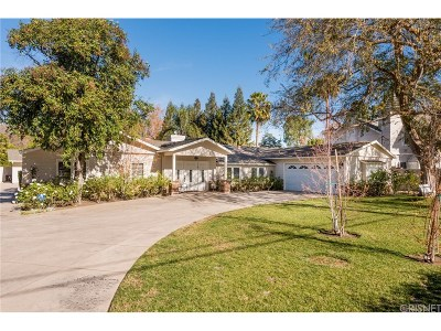 Woodland Hills Single Family Home For Sale: 23433 Hatteras Street