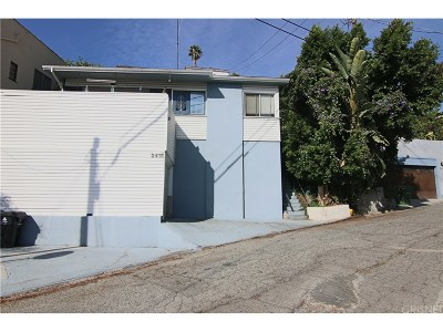 Single Family Home For Sale: 2415 North Gower Street