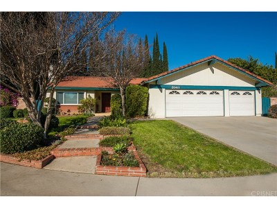 Chatsworth Single Family Home For Sale: 20411 Tuba Street
