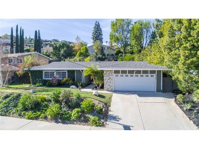 Woodland Hills Single Family Home For Sale: 6161 Pat Avenue
