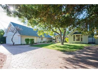 Encino Single Family Home For Sale: 4929 Hayvenhurst Avenue