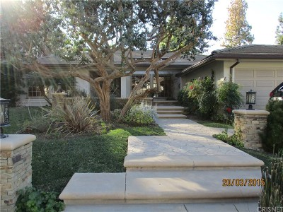 Woodland Hills Rental For Rent: 20340 Chapter Drive