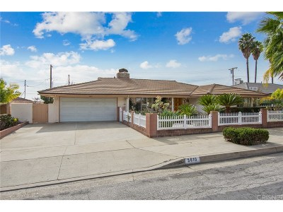 Pasadena Single Family Home For Sale: 3810 Valley Lights Drive