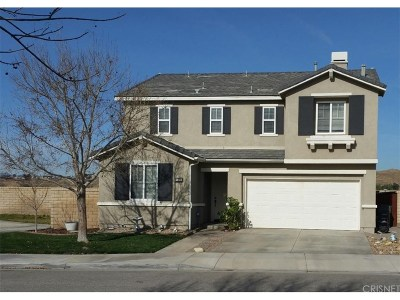 Canyon Country Single Family Home For Sale: 17339 Blue Aspen Lane