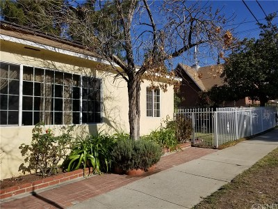 Sunland Single Family Home For Sale: 7805 Apperson Street