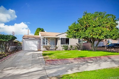 Burbank Single Family Home For Sale: 1427 North California Street