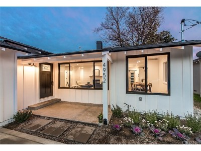 Valley Village Single Family Home For Sale: 4952 Alcove Avenue