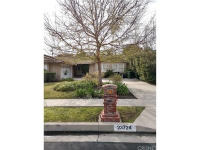 Woodland Hills Rental For Rent: 23724 Aetna Street