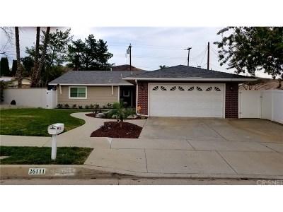 Single Family Home For Sale: 26111 Hatmor Drive