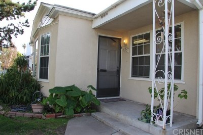 Burbank Single Family Home For Sale: 435 North Frederic Street