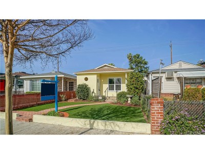 Burbank CA Single Family Home Sold: $570,000