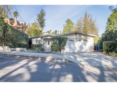 Woodland Hills Single Family Home For Sale: 21531 Yucatan Avenue