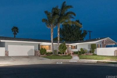 Northridge Single Family Home For Sale: 9458 Whitaker Avenue
