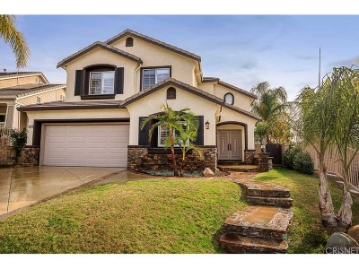 Saugus Single Family Home For Sale: 28460 Rock Canyon Drive