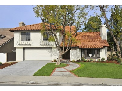 Agoura Hills Single Family Home For Sale: 29055 Saddlebrook Drive