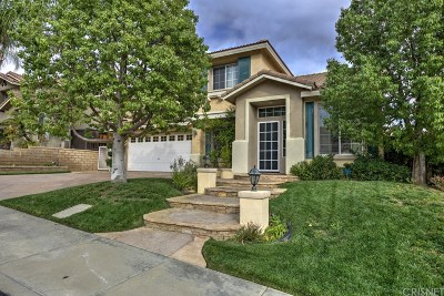 Castaic Single Family Home For Sale: 32508 The Old Road