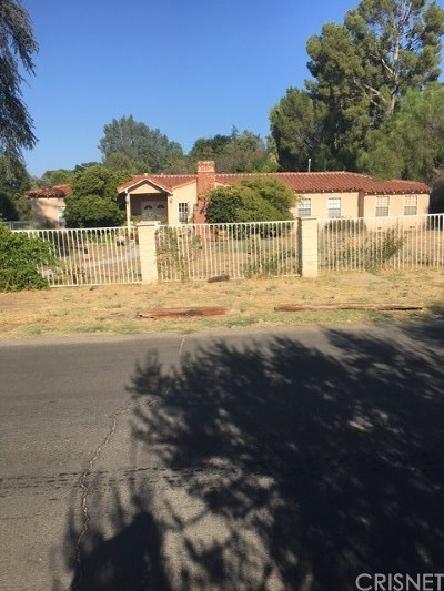 Tarzana Single Family Home For Sale: 6008 Melvin Avenue
