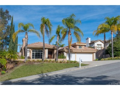 Calabasas Single Family Home For Sale: 22313 Dunmore Drive