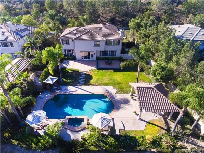 Topanga Single Family Home For Sale: 3240 Van Allen Place