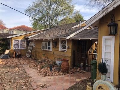 Tarzana Single Family Home For Sale: 4990 Vanalden Avenue